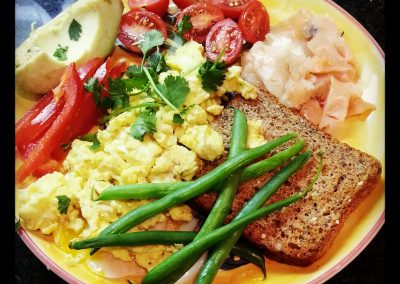 BEST BREAKFAST: HEALTHY EGGS AND TOAST