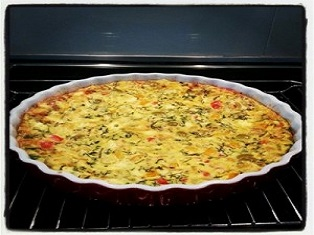 QUICK CRUSTLESS QUICHE RECIPE