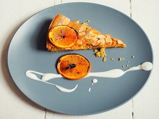 ALMOND AND ORANGE TORTE