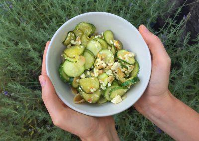 Summer Zesty Marrow Pasta | Munchwize Dietitians